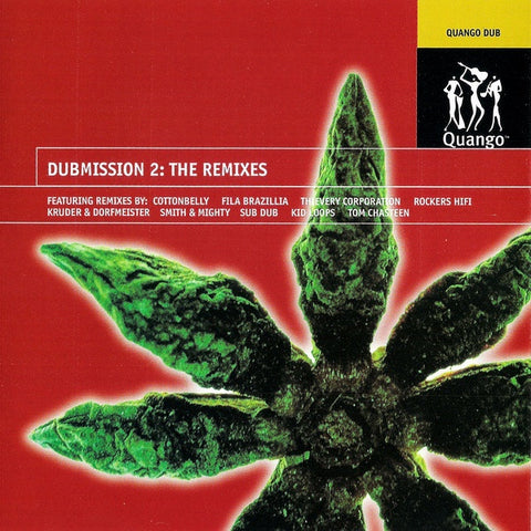 DUBMISSION 2 THE REMIXES-VARIOUS ARTISTS CD VG