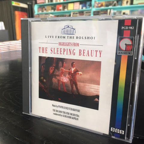 HIGHLIGHTS FROM SLEEPING BEAUTY - LIVE FROM THE BOLSHOI CD VG