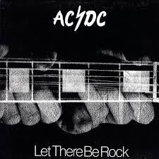 AC/DC-LET THERE BE ROCK LP NM COVER VG+