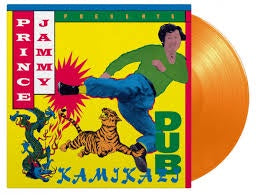 PRINCE JAMMY-KAMIKAZI DUB ORANGE VINYL LP *NEW*