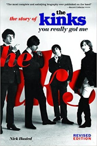 KINKS THE-YOU REALLY GOT ME: THE STORY OF THE KINKS BOOK EX