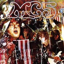 MC5-KICK OUT THE JAMS LP VG COVER VG+