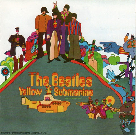 BEATLES THE-YELLOW SUBMARINE CD *NEW*