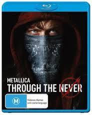 METALLICA-THROUGH THE NEVER BLURAY *NEW*