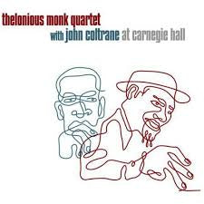 THELONIOUS MONK QUARTET AT CARNEGIE HALL CD VG