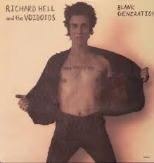 HELL RICHARD & THE VOIDOIDS-BLANK GENERATION LP VG COVE EX