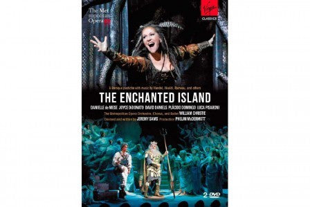 A BAROQUE PASTICHE-THE ENCHANTED ISLAND DVD *NEW*