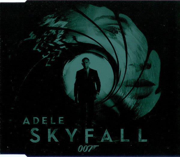 ADELE-SKYFALL 007 THEME SONG CD SINGLE VG+