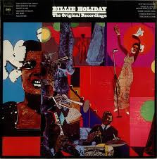 HOLIDAY BILLIE-THE ORIGINAL RECORDINGS LP VG+ COVER VG