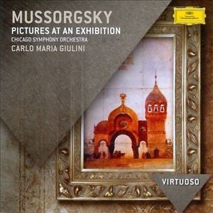 MUSSORGSKY-PICTURES AT AN EXHIBITION CD VG+