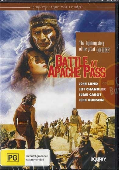 BATTLE AT APACHE PASS DVD G