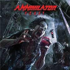 ANNIHILATOR-FEAST 2CD VG+