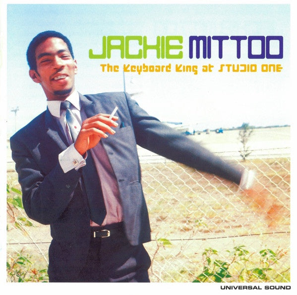 MITTOO JACKIE-THE KEYBOARD KING AT STUDIO ONE CD VG