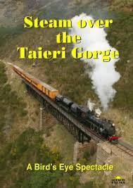 STEAM OVER THE TAIERI GORGE-A BIRDS EYE SPECTACLE DVD VG