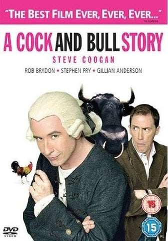 A COCK AND BULL STORY REGION 2 DVD VG