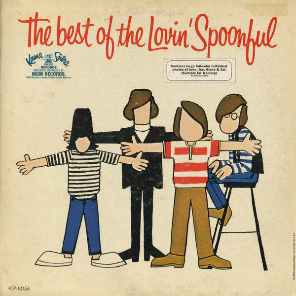 LOVIN' SPOONFUL THE-THE BEST OF THE LOVIN' SPOONFUL LP VG COVER VG