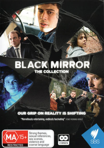 BLACK MIRROR THE COLLECTION 2DVD VG