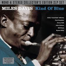 DAVIS MILES-KIND OF BLUE MONO AND STEREO 2LP *NEW*