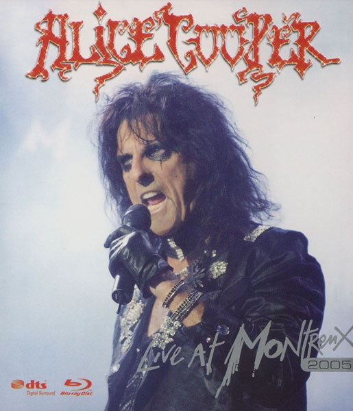 COOPER ALICE-LIVE AT MONTREUX 2005 BLURAY VG