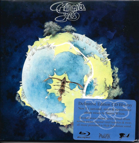YES-FRAGILE DEFINITIVE EDITION CD+BLURAY *NEW*