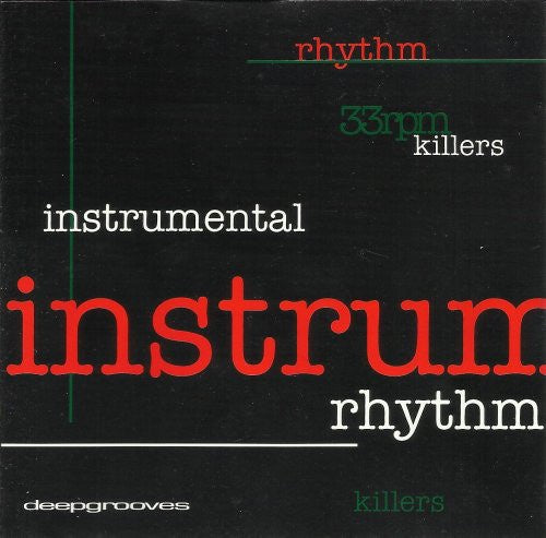 INSTRUMENTAL KILLERS-VARIOUS ARTISTS CD VG