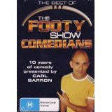THE BEST OF THE FOOTY SHOW COMEDIANS REGION ALL DVD M