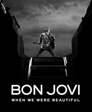 BON JOVI-WHEN WE WERE BEAUTIFUL BOOK VG