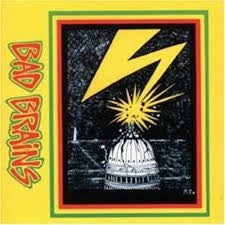 BAD BRAINS-BAD BRAINS LP EX COVER NM