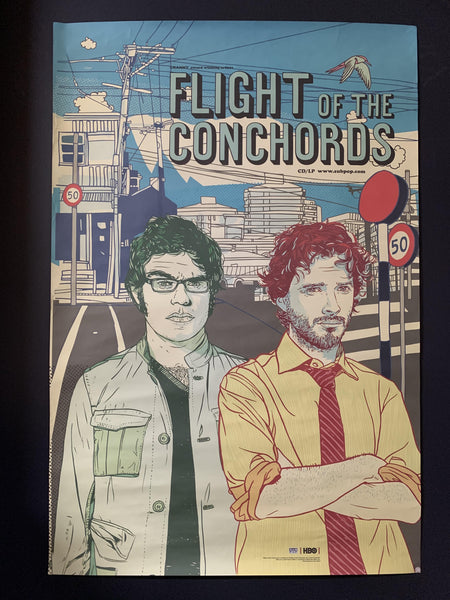 FLIGHT OF THE CONCHORDS ORIGINAL PROMO POSTER