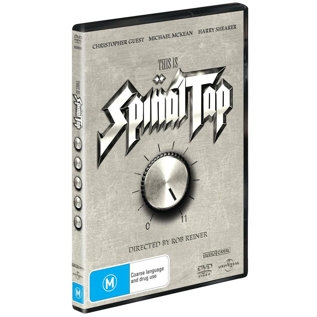 THIS IS SPINAL TAP DVD VG+
