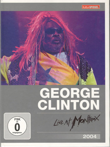 CLINTON GEORGE-LIVE AT MONTREUX 2004 DVD VG
