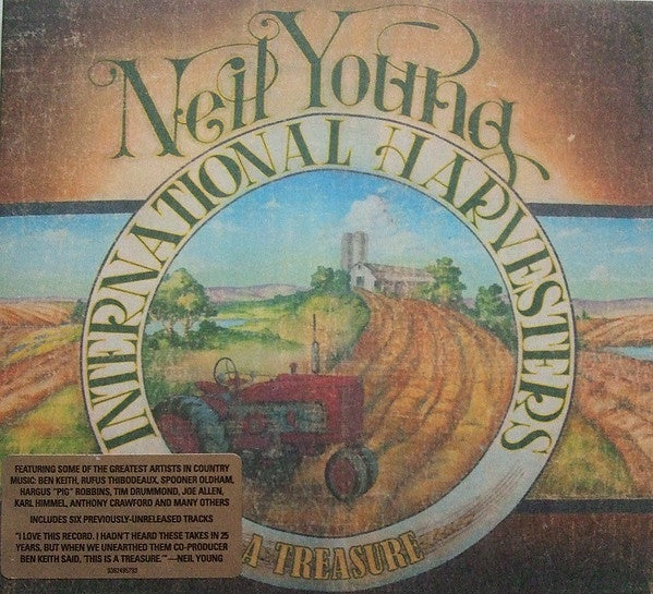 YOUNG NEIL / INTERNATIONAL HARVESTERS-A TREASURE CD VG
