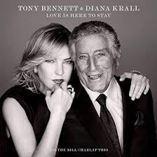 BENNETT TONY & DIANA KRALL-LOVE IS HERE TO STAY LP *NEW*