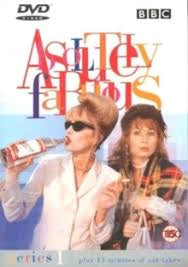 ABSOLUTELY FABULOUS SERIES 1 DVD VG