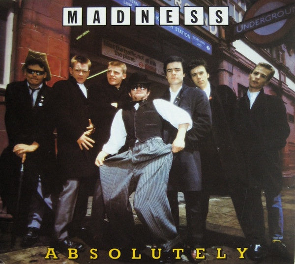 MADNESS-ABSOLUTELY 2CD VG