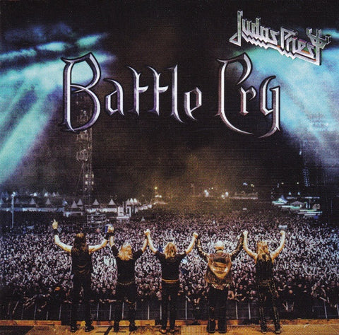 JUDAS PRIEST-BATTLE CRY CD VG