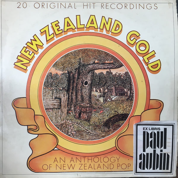 NEW ZEALAND GOLD-VARIOUS ARTISTS LP VG+ COVER VG