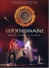 WHITESNAKE-WHITE NIGHT IN RUSSIA DVD *NEW*