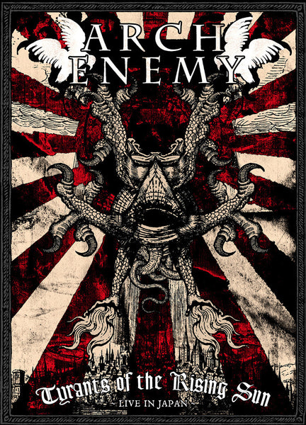 ARCH ENEMY-TYRANTS OF THE RISING SUN DVD *NEW*