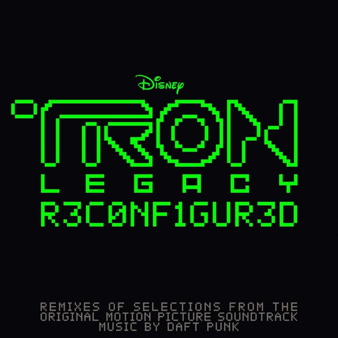DAFT PUNK-TRON LEGACY RECONFIGURED GREEN VINYL 2LP *NEW*