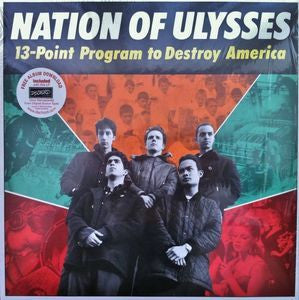 NATION OF ULYSSES-13 POINT PROGRAM TO DESTROY LP *NEW*