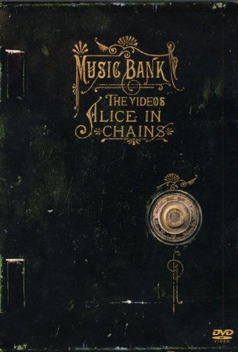 ALICE IN CHAINS - MUSIC BANK THE VIDEOS DVD VG