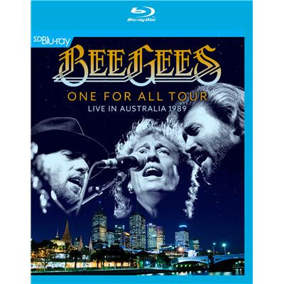 BEE GEES-ONE FOR ALL TOUR LIVE IN AUSTRALIA 1989 BLURAY VG+