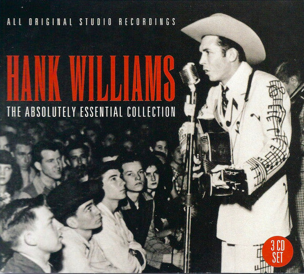 WILLIAMS HANK-THE ABSOLUTELY ESSENTIAL COLLECTION 3CD VG
