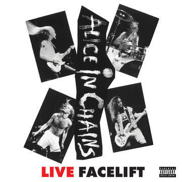 ALICE IN CHAINS-LIVE FACELIFT LP *NEW*