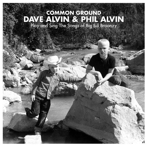 ALVIN DAVE & PHIL ALVIN-COMMON GROUND CD VG