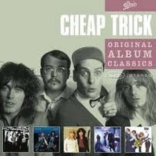 CHEAP TRICK-ORIGINAL ALBUM CLASSICS 5CD VG+