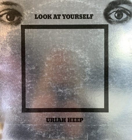 URIAH HEEP-LOOK AT YOURSELF LP VG+ COVER VG+