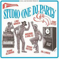 STUDIO ONE DJ PARTY-VARIOUS ARTISTS 2LP *NEW*