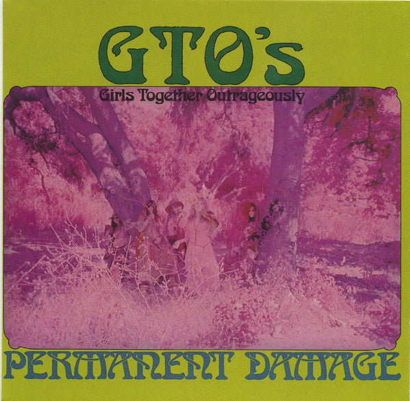 GTO'S-PERMANENT DAMAGE CD VG